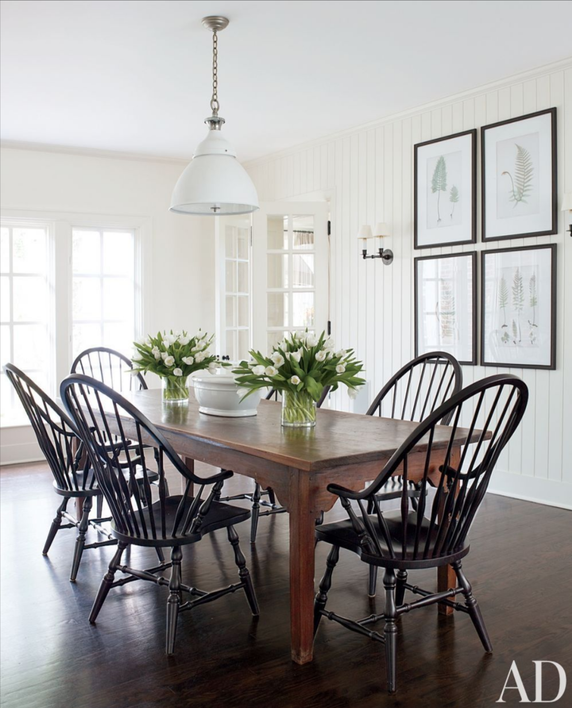 Windsor Chairs Cottonwood Co, Windsor Dining Room