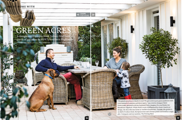 Cottonwood House & Garden magazine