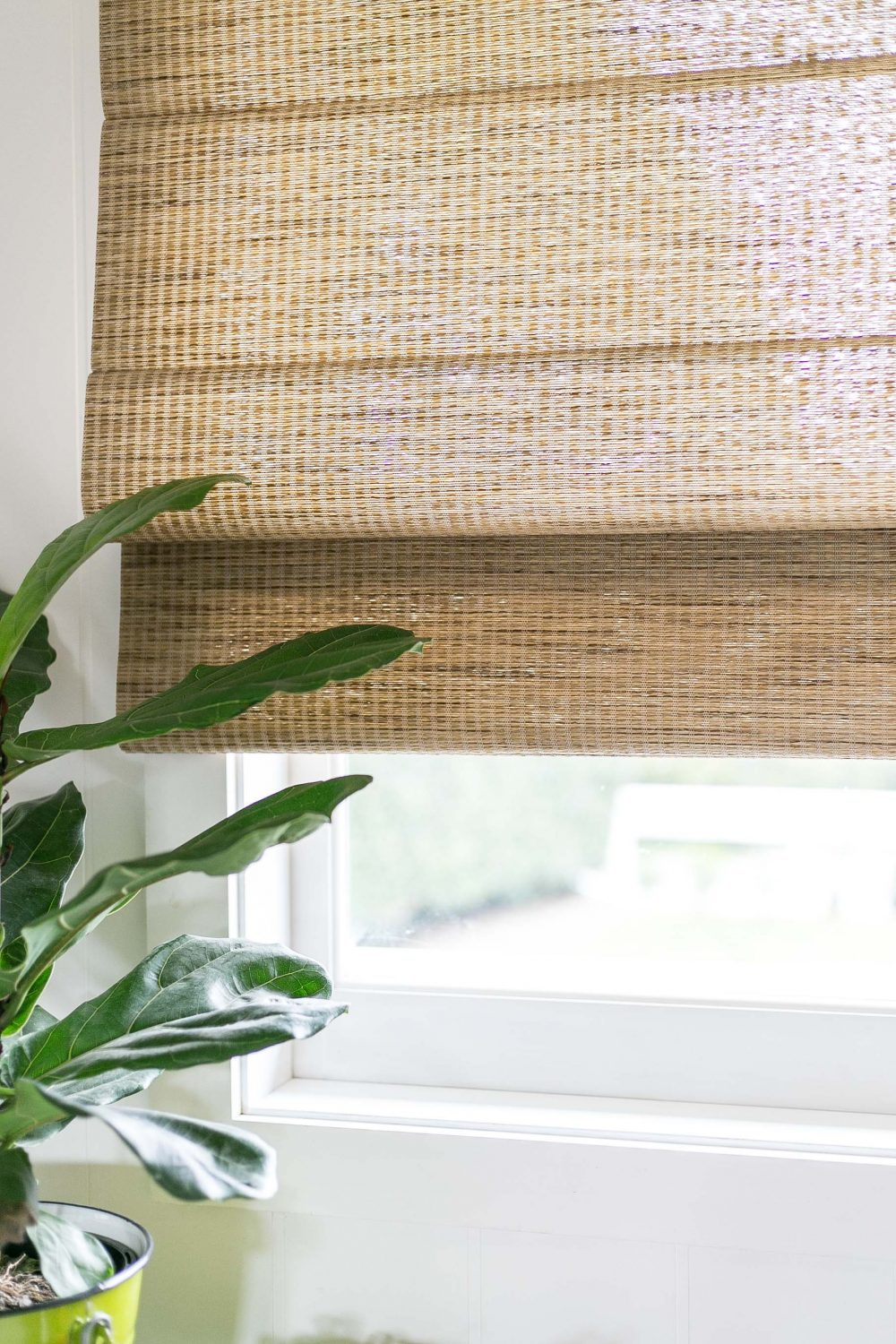 Cottonwood and Co - the perfect woodweave / bamboo blinds