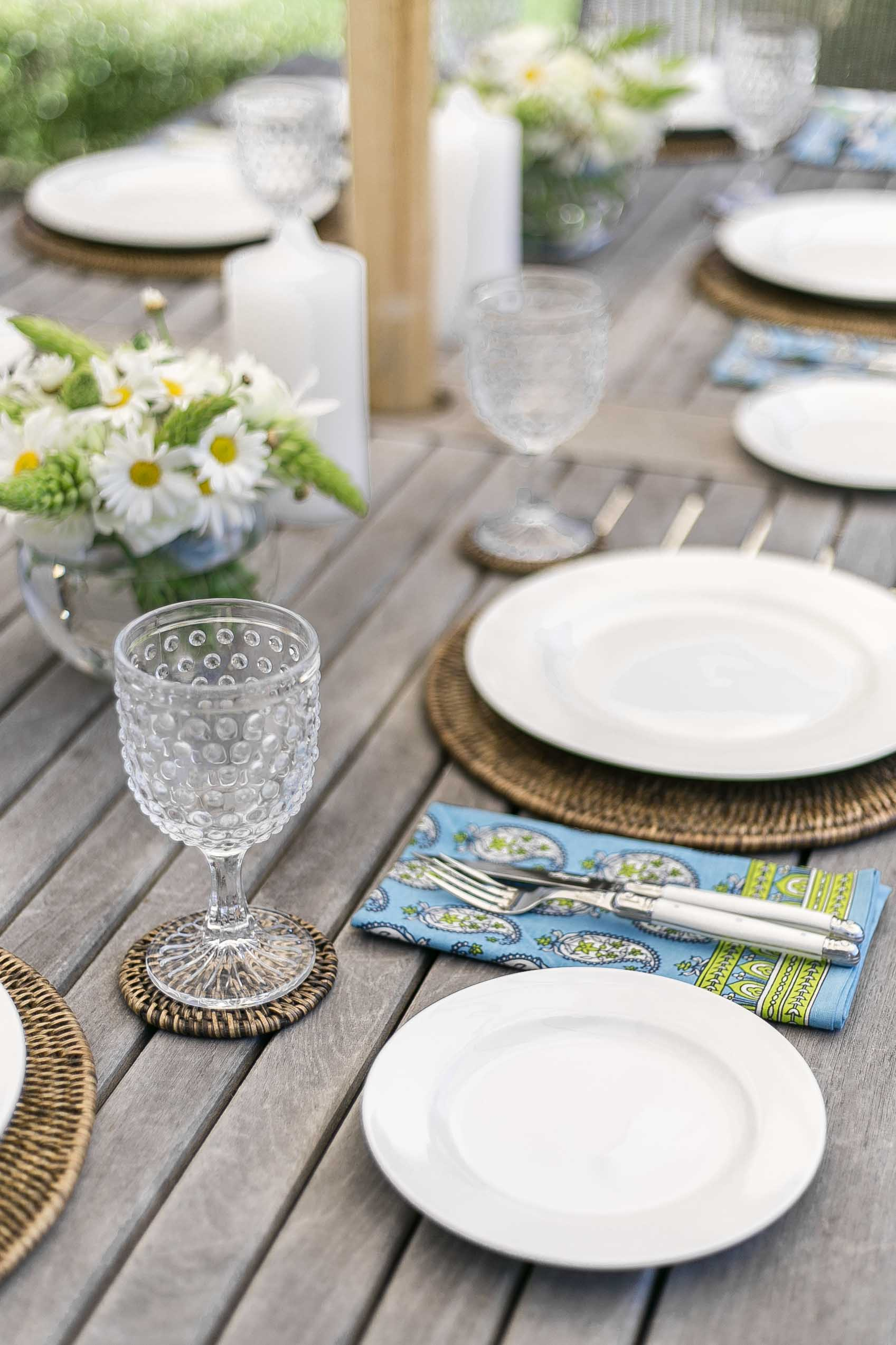 cottonwood tips for easy entertaining