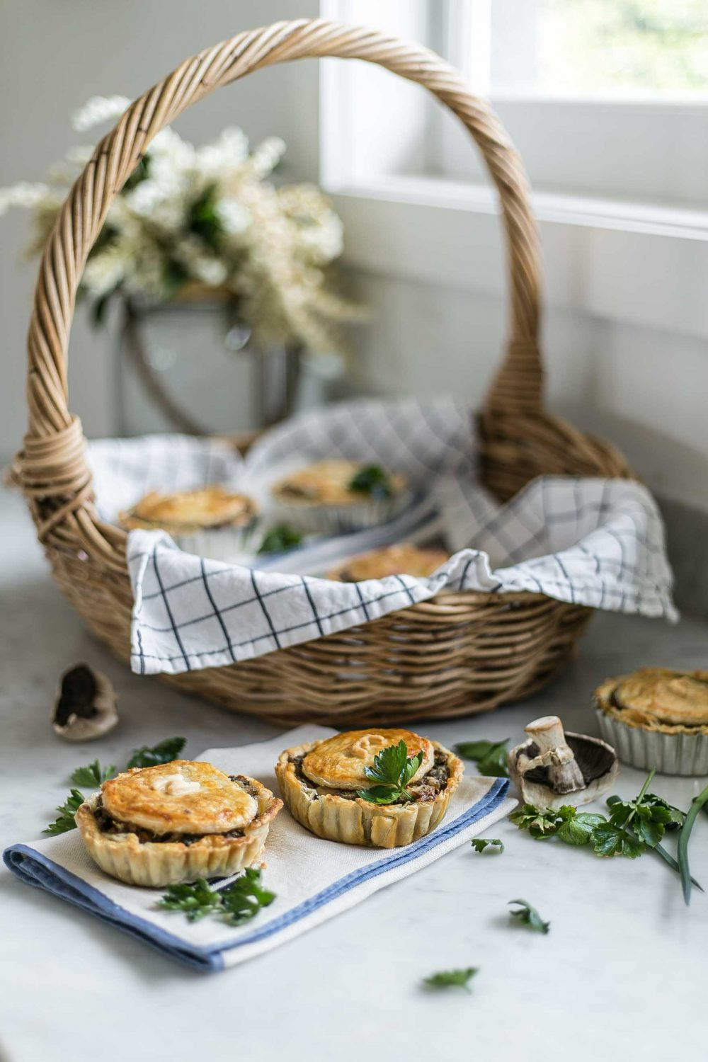 Cottonwood and Co - leftover chicken and vegetable pies