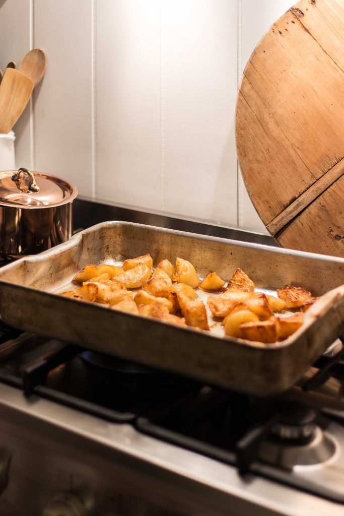 Cottonwood and Co - duck fat roast potatoes