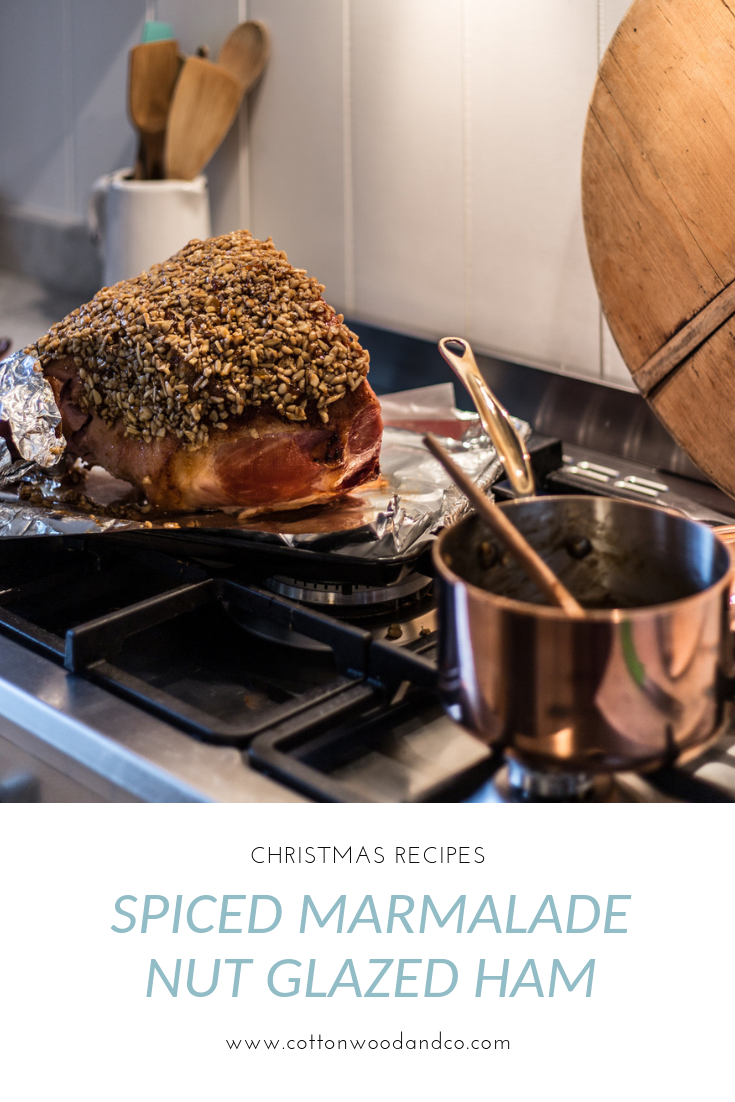Cottonwood and Co - spiced marmalade nut glazed Christmas ham
