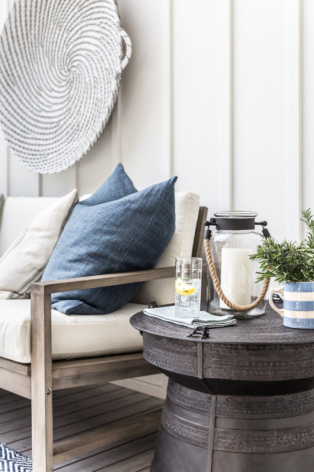 Cottonwood & Co x Pottery Barn. Modern farmhouse outdoor living