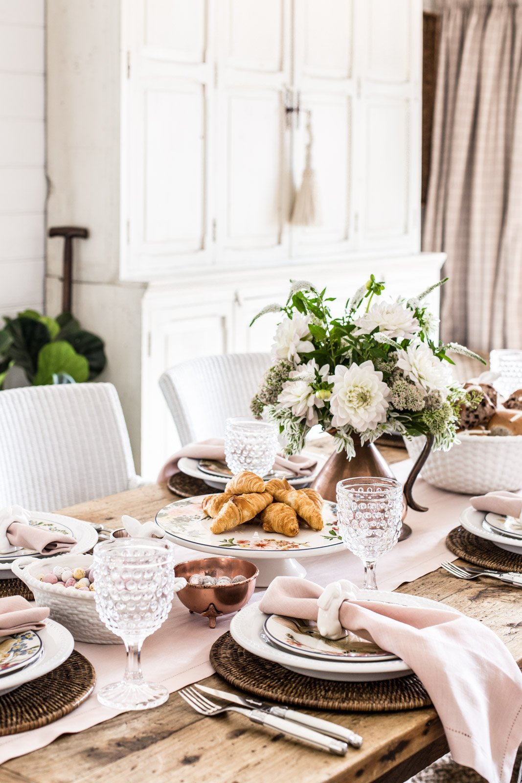 Easter Table With Pottery Barn Cottonwood Amp Co