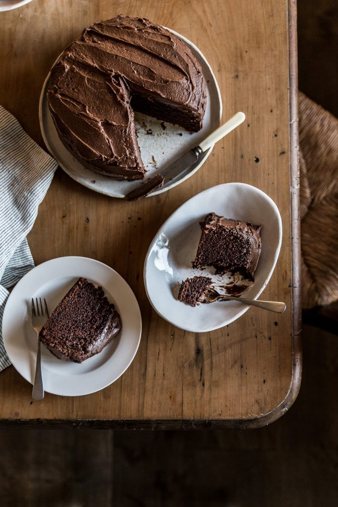 Chocolate cake by Recipe Tin Eats- Cottonwood and Co