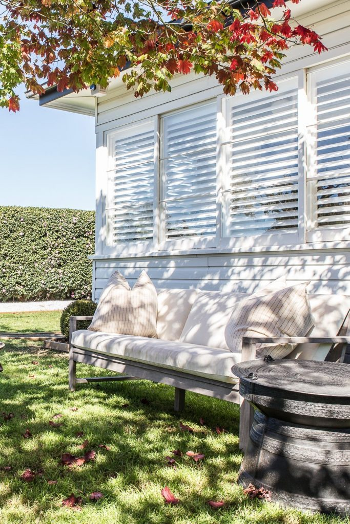 Country Cottage with Plantation Shutters - Cottonwood & Co