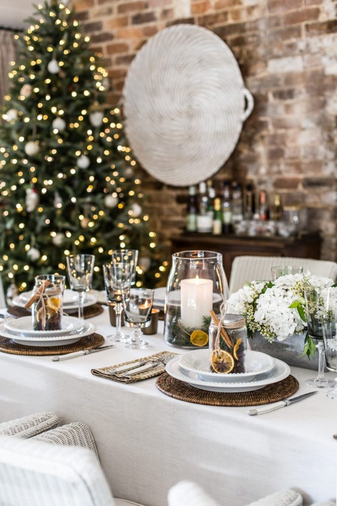 Christmas Table Styling - Cottonwood & Co