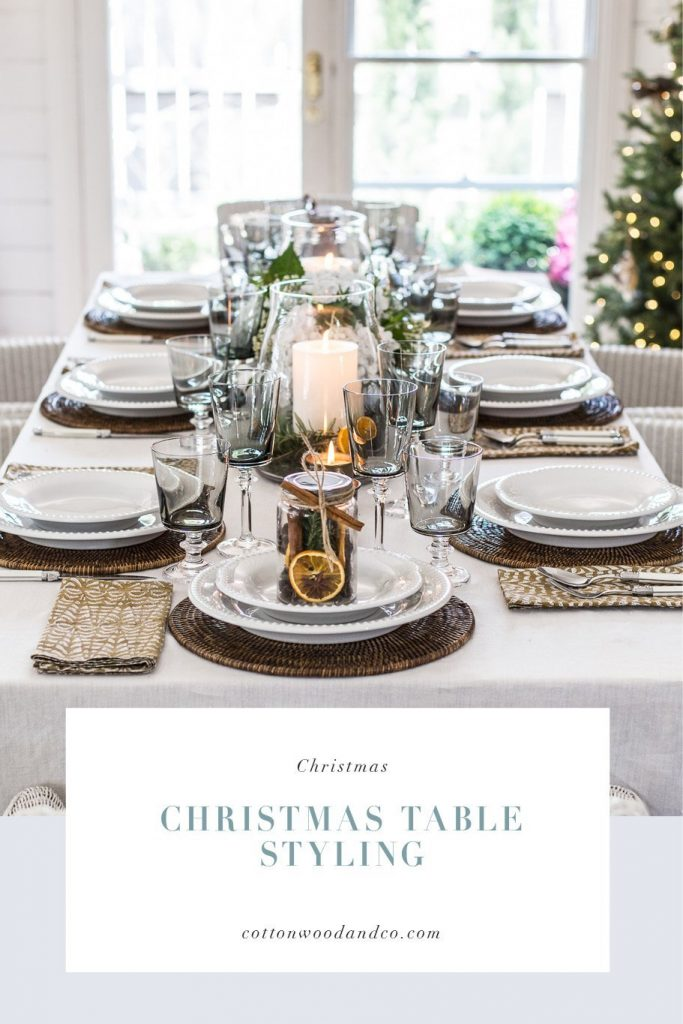 Cottonwood & Co - Christmas Table Styling